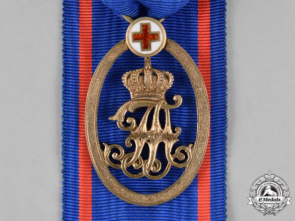 eMedals-Oldenburg, Grand Duchy. A Red Cross Medal, c.1900