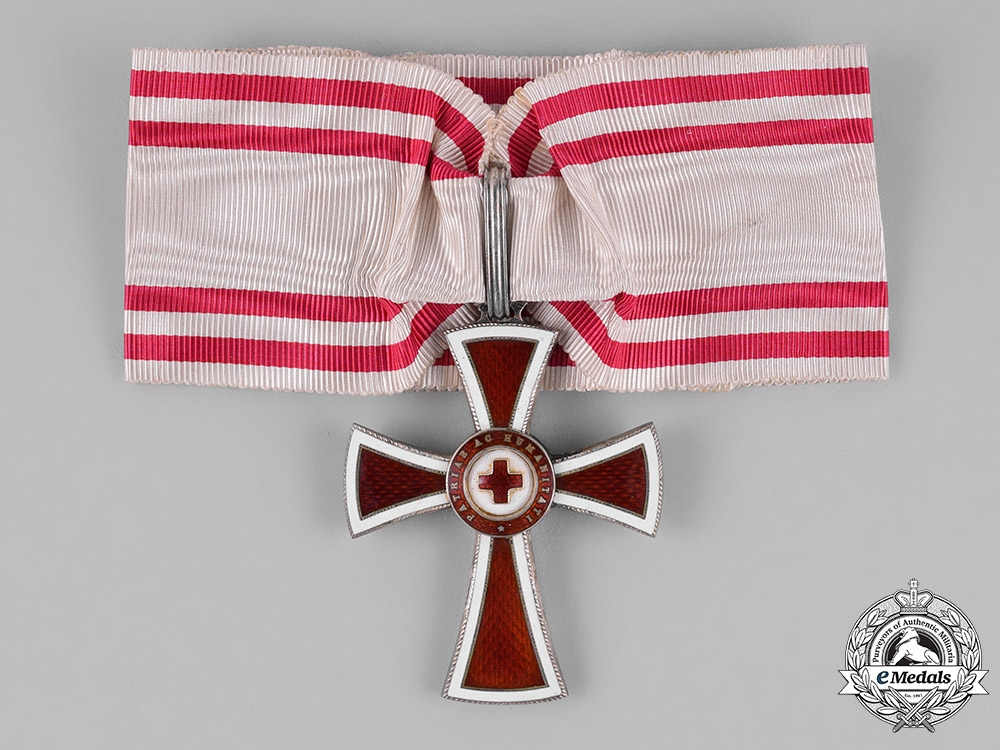 eMedals-Austria, Empire. An Honour Decoration of the Red Cross, First Class, c.1914