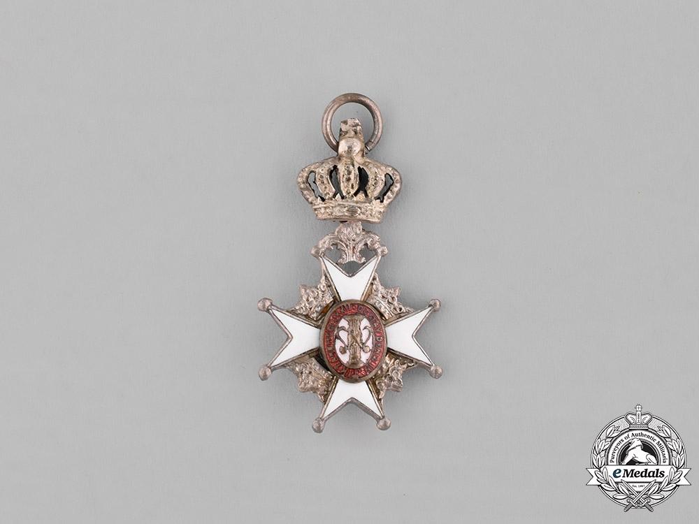 eMedals-Sweden. A Miniature Order of Vasa, II Class Knight