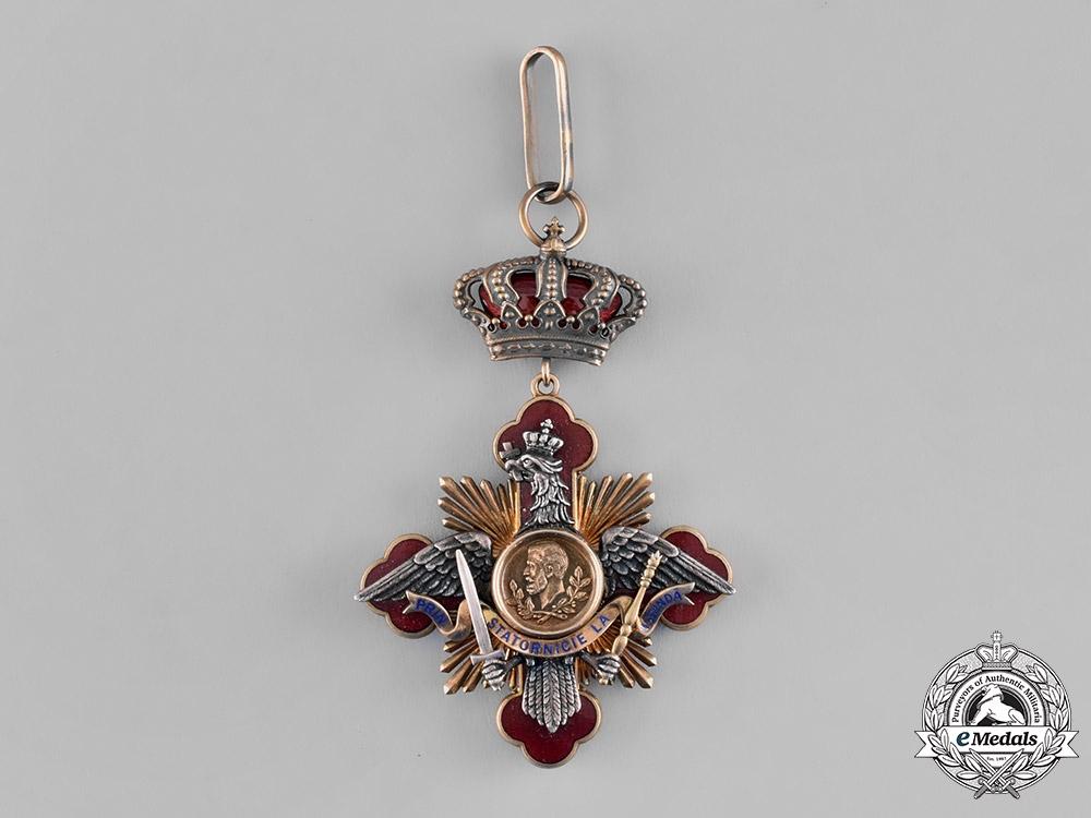 eMedals-Romania, Kingdom. An Order of Carol I, Commander's Cross, c.1918