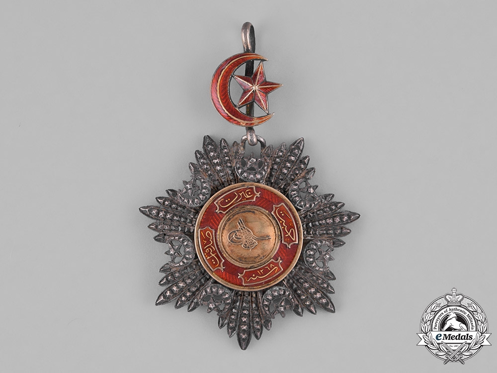 eMedals-Turkey, Ottoman Empire. An Order of Medjidie, I Class Grand Cross Badge, c.1860