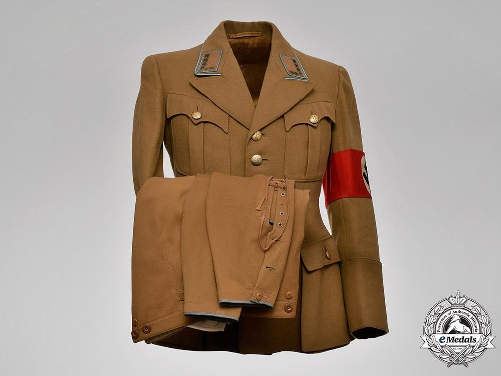 eMedals-Germany, NSDAP. An Orts Level Stellenleiter Uniform