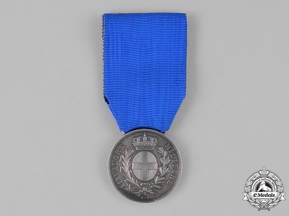 eMedals-Italy, Kingdom. A Medal for Military Valour, Silver Grade, c.1940