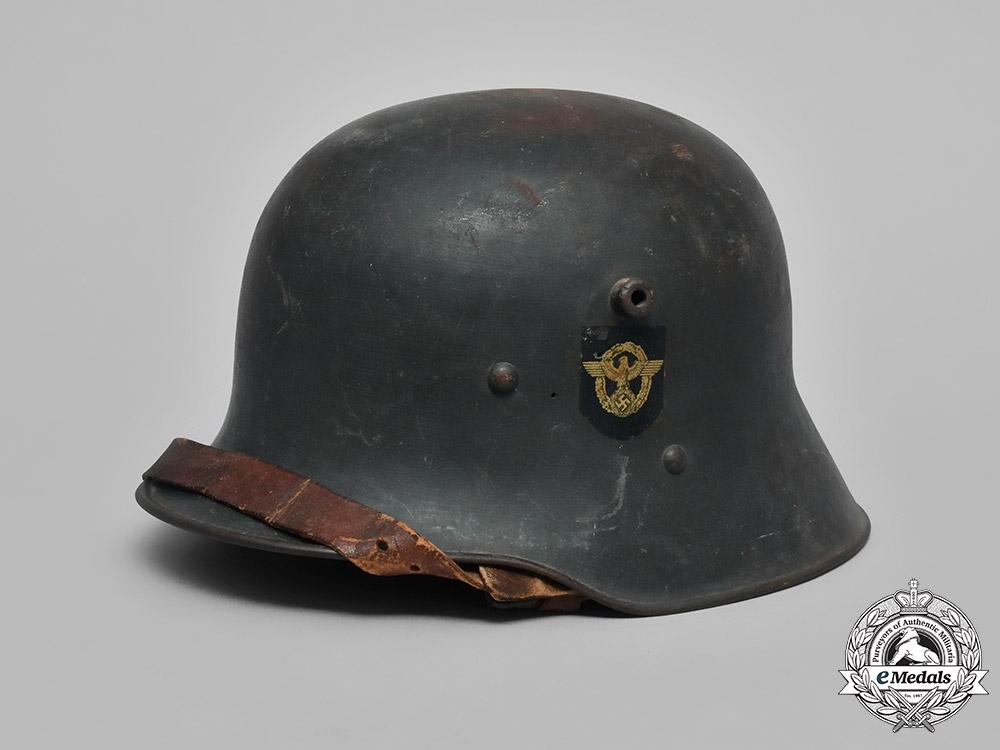 eMedals-Germany, Police. An M18 Transitional Austrian Ordnungspolizei Helmet