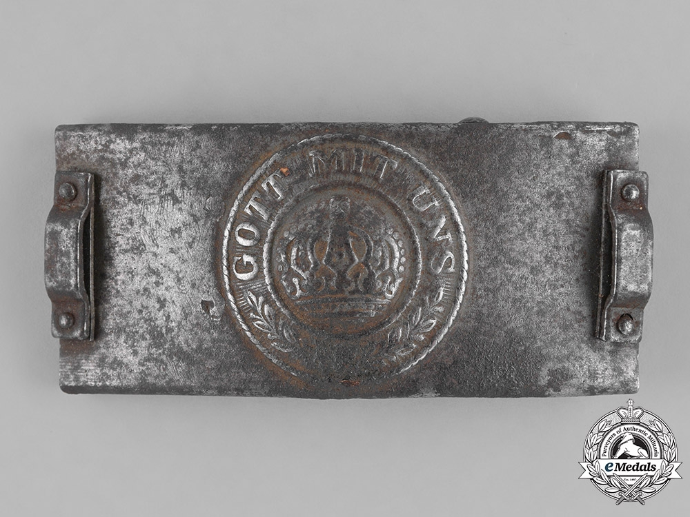 eMedals-Germany, Empire. A Telegrapher's Belt Buckle, c. 1917