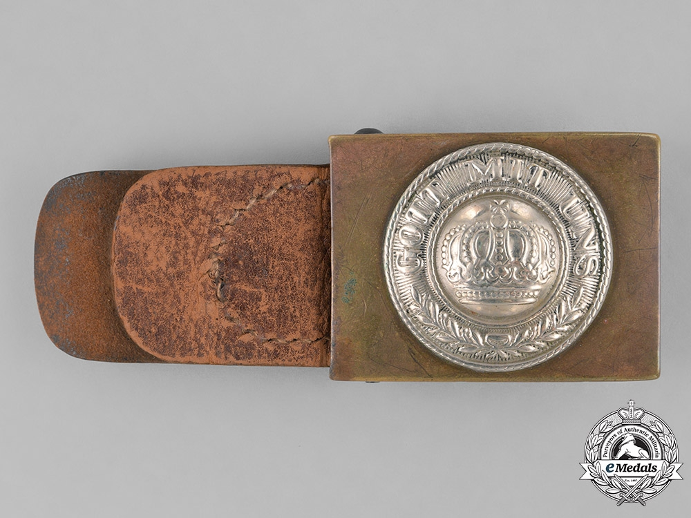 eMedals-Germany, Empire. A Standard Issue EM/NCO's Belt Buckle