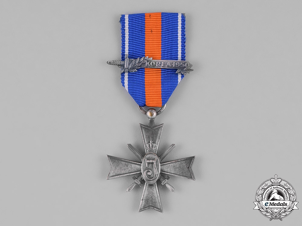 eMedals-Netherlands, Kingdom. A Cross for Freedom and Justice