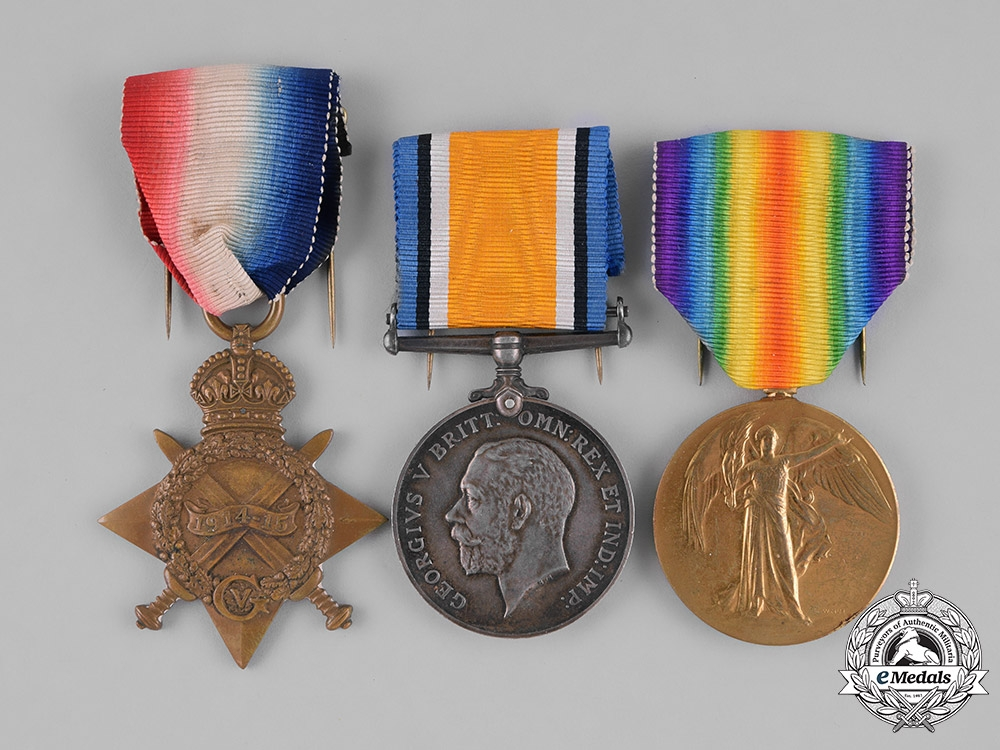 eMedals-Canada. A First War Trio to Lance Corporal Jepps, Wounded at Fresnoy and Arras