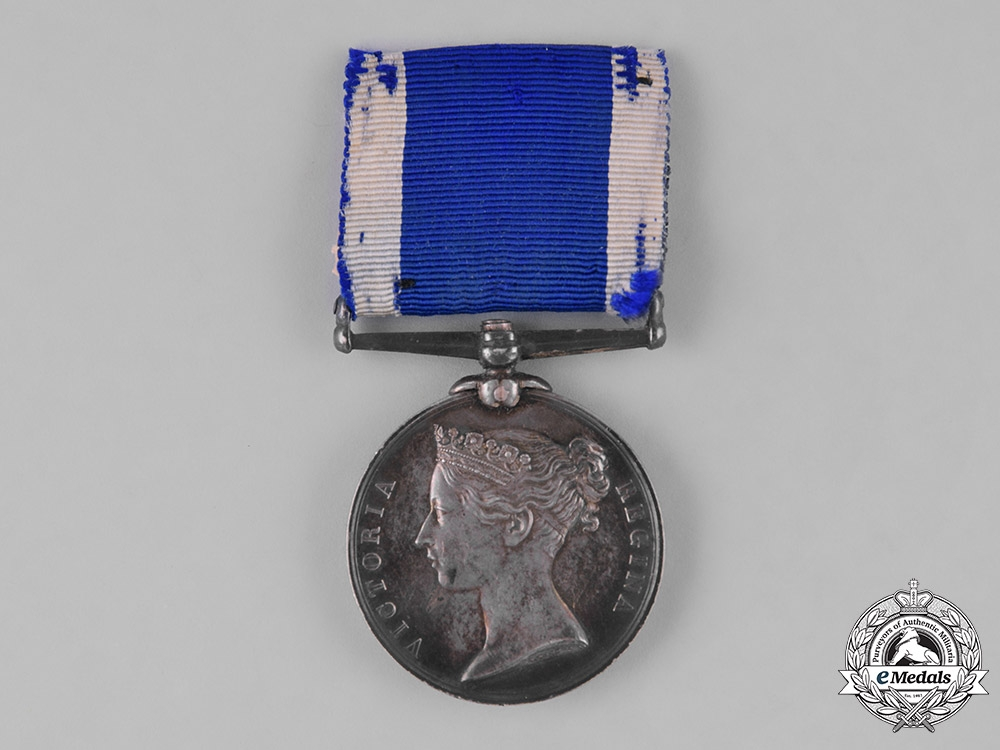 eMedals-United Kingdom. A Royal Naval Long Service &Good Conduct Medal, H.M.S. Excellent
