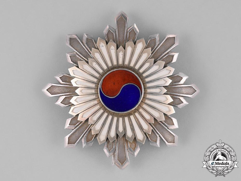 eMedals-Korea, Republic. An Order of the Taegeuk, II Class Star, c.1910