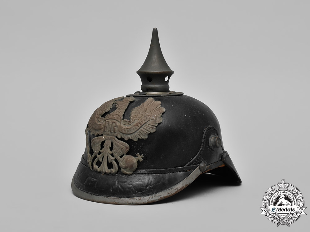 eMedals-Prussia, State. A Heer (Army) EM's Pickelhaube
