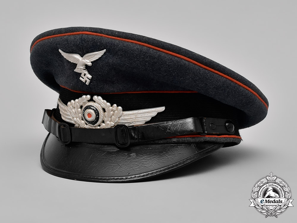 eMedals-Germany, Luftwaffe. An Artillery NCO's Vicor Cap, by Robert Lubstein