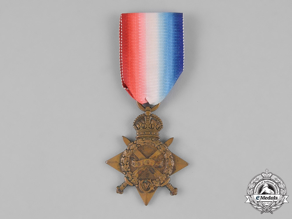eMedals-Canada. A First War 1914-15 Star, to Private Andrew Walker, 49th Infantry Battalion, 50th Infantry Battalion