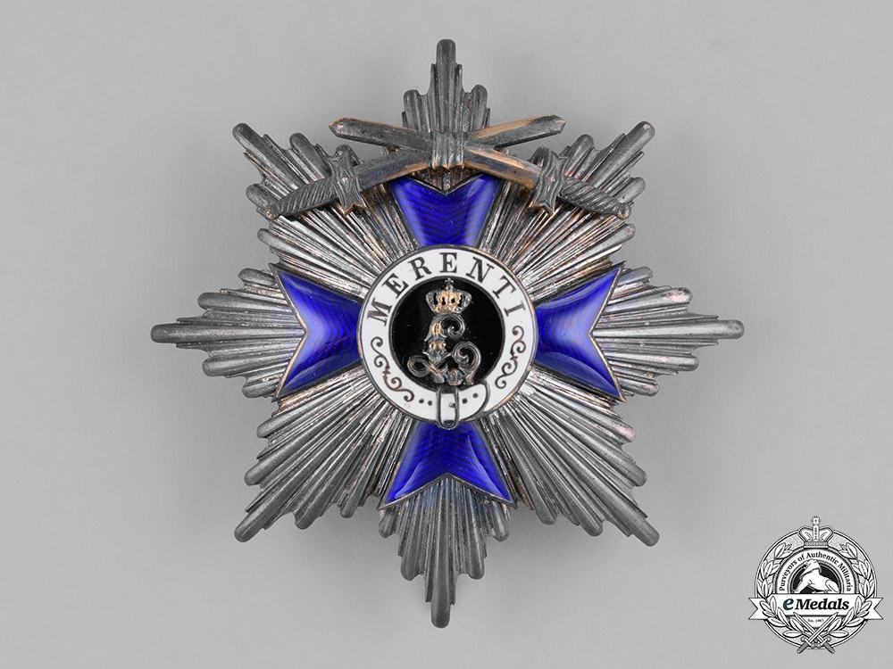 eMedals-Bavaria, Kingdom. An Order of Military Merit, II Class with Swords, c.1914