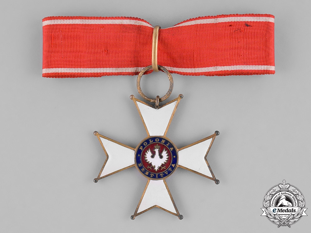 eMedals-Poland, Republic. An Order of Polonia Restituta, III Class Commander, c.1925