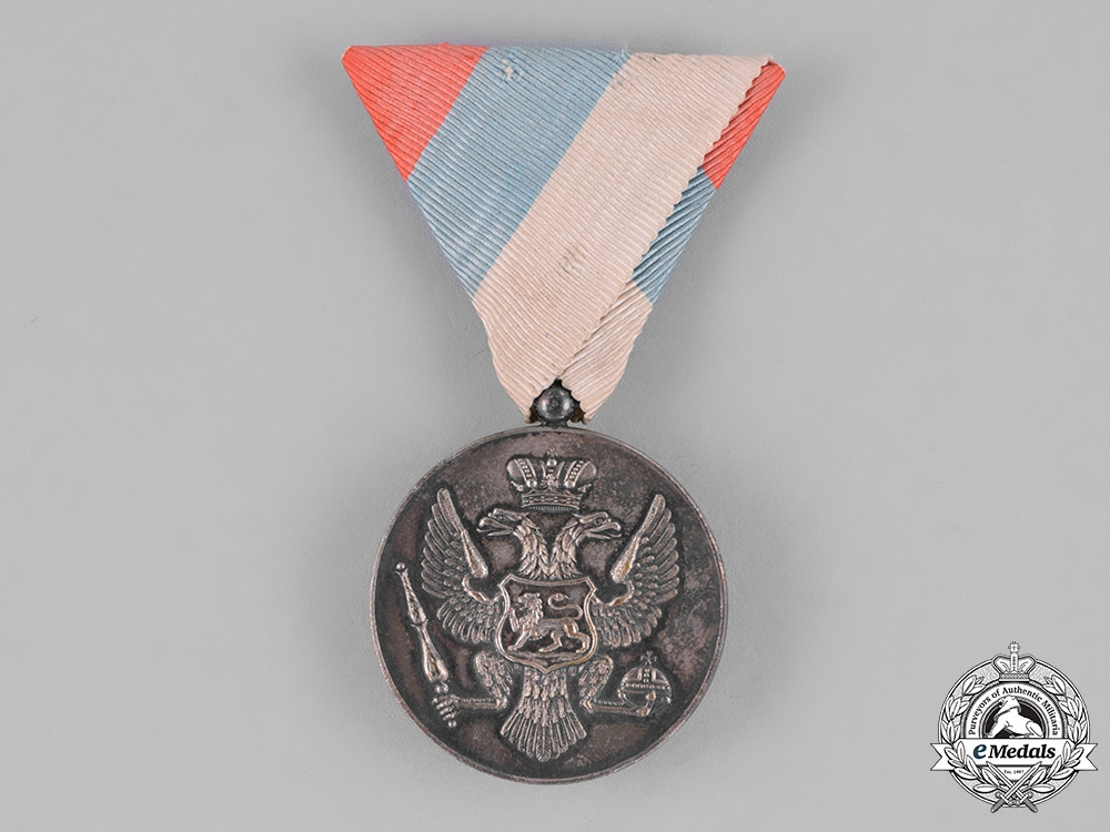 eMedals-Montenegro, Kingdom. A Bravery Medal