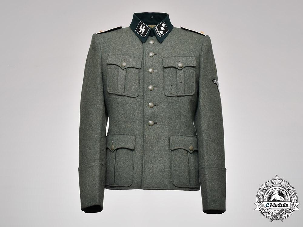 eMedals-Germany, SS. A Waffen-SS Infantry Obersturmführer's Dress Tunic