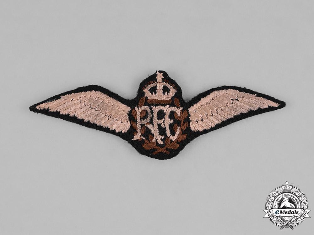 eMedals-United Kingdom. A Royal Flying Corps (RFC) Pilot Badge, c.1918