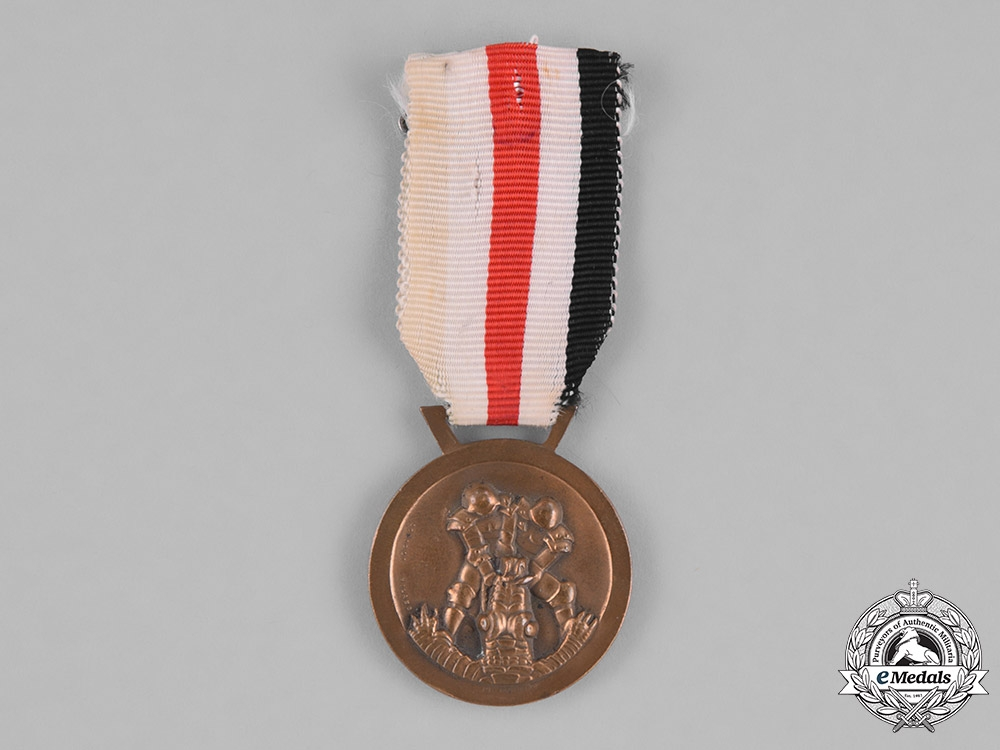 eMedals-Italy, Kingdom. A 1943 Italo-German Campaign Medal for Africa by Lorioli
