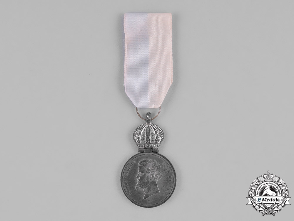 eMedals-Brazil, Empire. A Medal for the Uruguay Campaign, Officer's Silver Medal c.1852