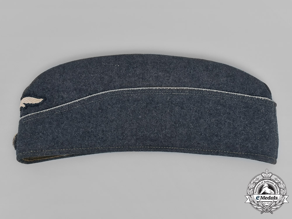 eMedals-Germany, Luftwaffe. An Officer's Converted Overseas Cap, by Max Berger