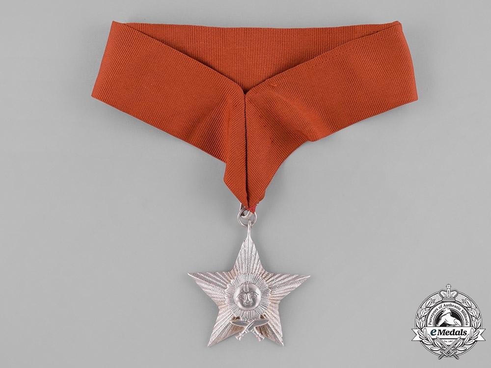 eMedals-Nepal, Federal Democratic Republic. A Most Puissant Order of the Gorkha Dakshina Bahu, IV Class
