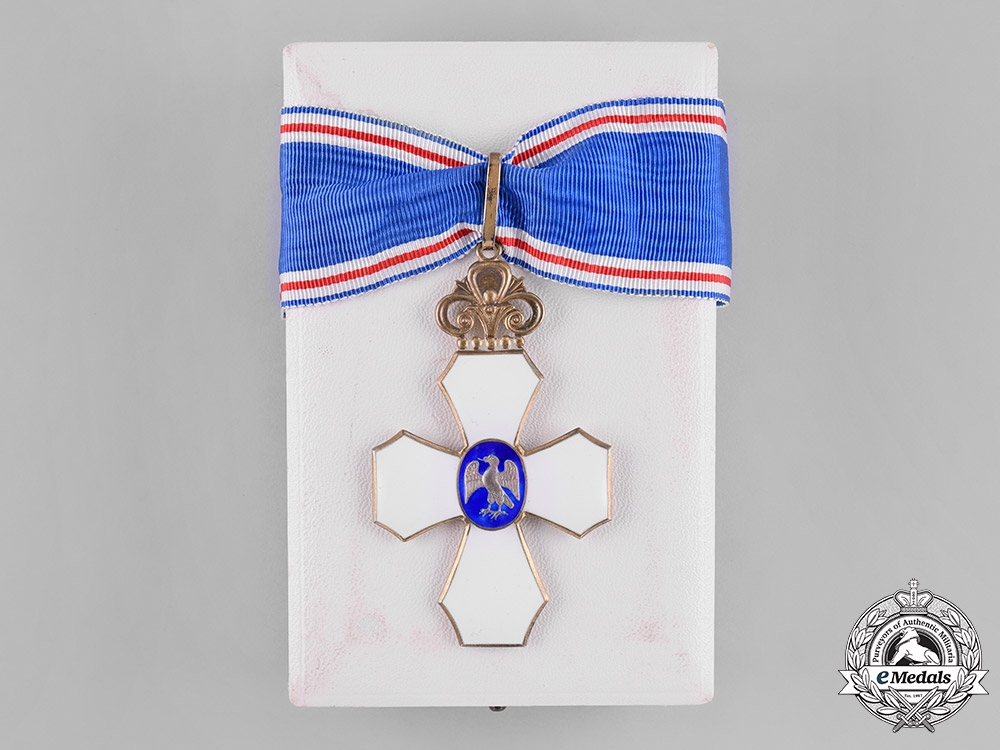 eMedals-Iceland, Republic. An Order of the Falcon, Commander's Cross, by Kjartan Asmundsson, c.1950