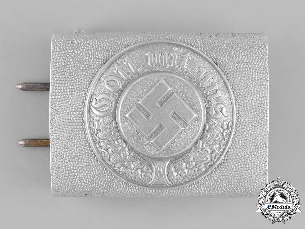 eMedals-Germany, Ordnungspolizei. A Standard Police Enlisted Man's Belt Buckle