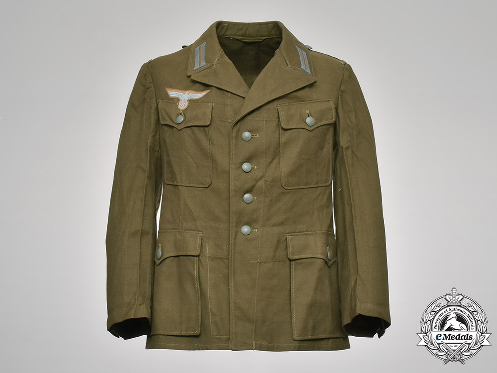 eMedals-Germany, Heer. An Army M43 Tropical Artillery Enlisted Man's Tunic