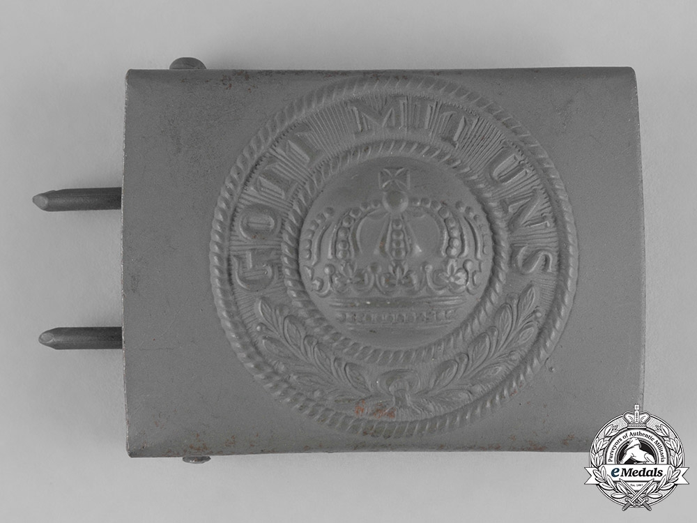 eMedals-Germany, Empire. An Imperial German Army EM/NCO Belt Buckle