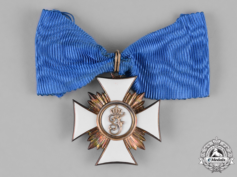 eMedals-Württemberg, Kingdom. An Order of Friedrich, I Class Knight