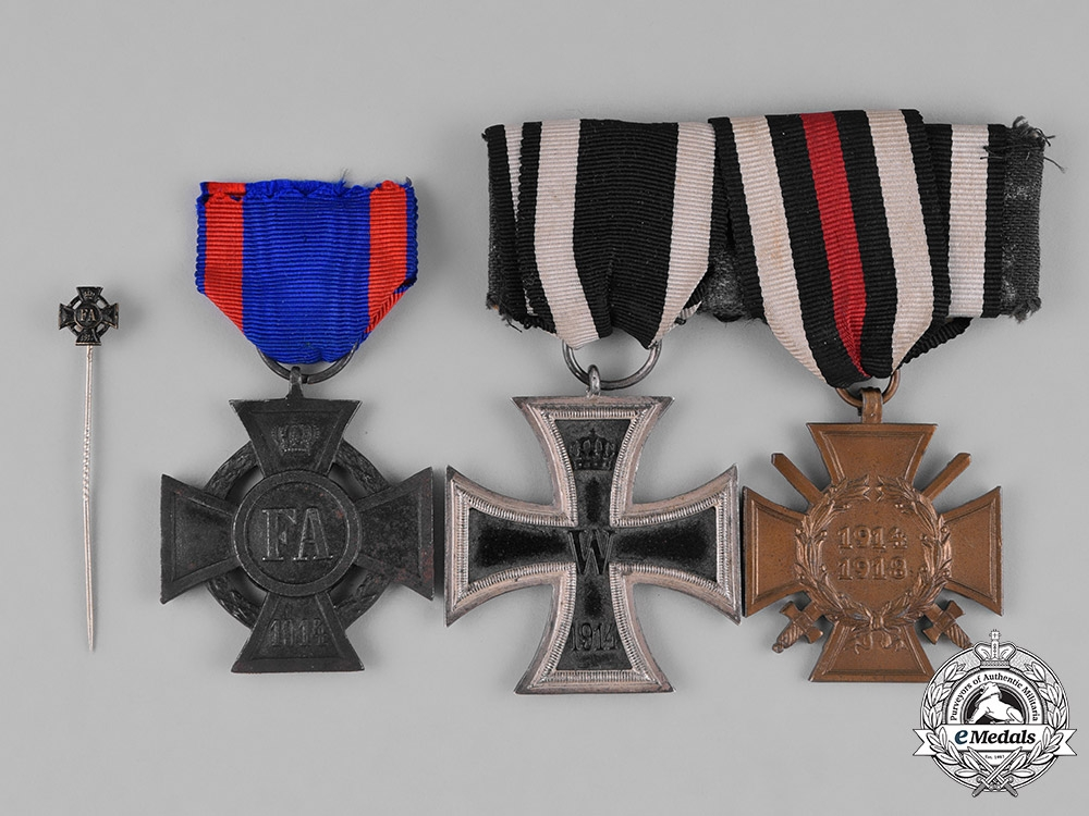 eMedals-Germany, Imperial. A Group of First War Period Medals