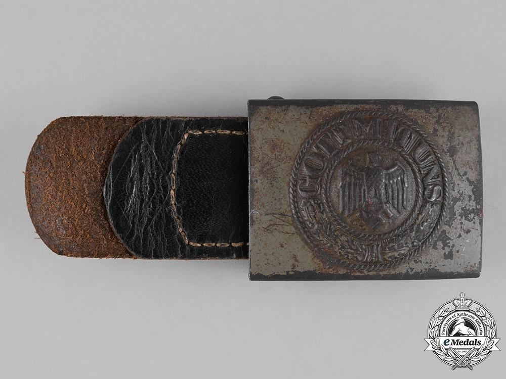 eMedals-Germany, Heer. A Heer (Army) EM/NCO's Belt Buckle