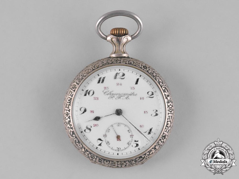 eMedals-Germany, Luftstreitskräfte. A First War Flieger's Pocket Watch