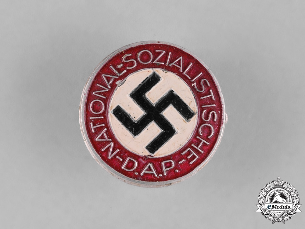 eMedals-Germany, NSDAP. A Membership Badge, by Rudolf Reiling