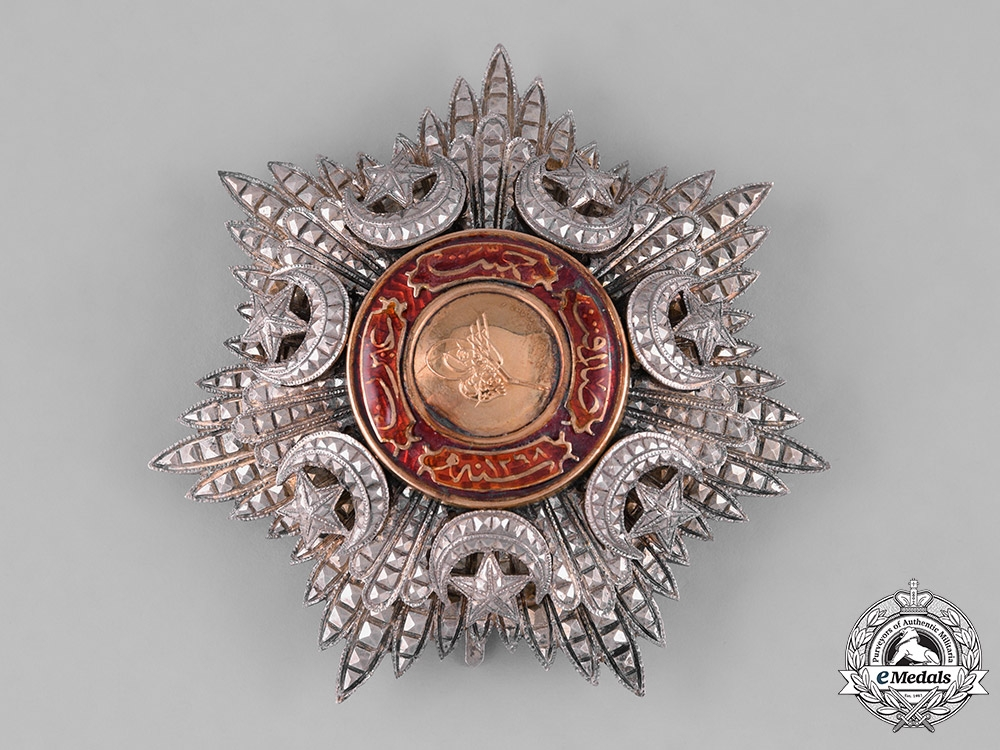 eMedals-Turkey, Ottoman Empire. An Order of Medjidie (Mecidiye), II Class Star, c.1918