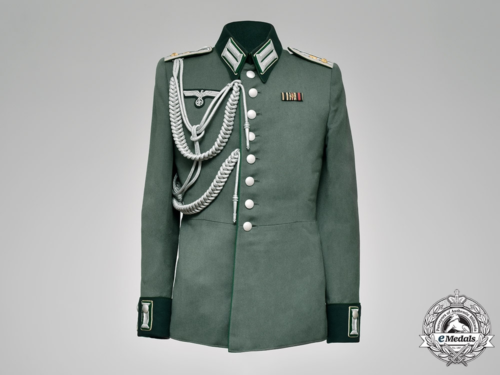 eMedals-Germany, Heer. A Heersverwaltung (Army Administration) Paymaster Officer's Tunic