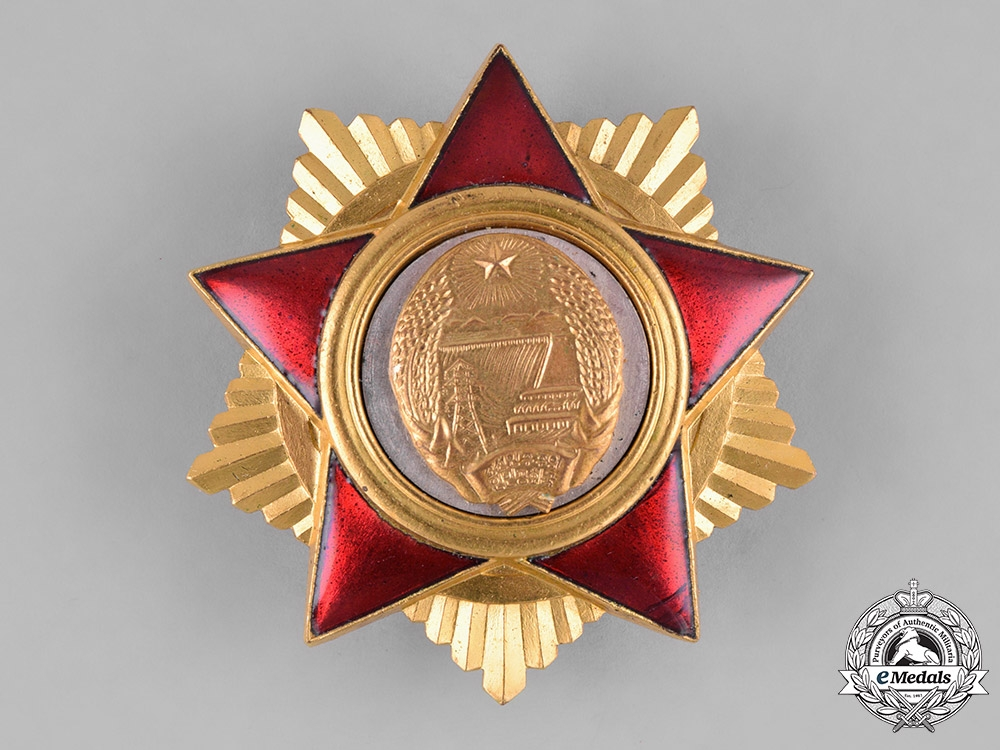 eMedals-Korea, Democratic People's Republic. An Order of the Foundation of the People's Army