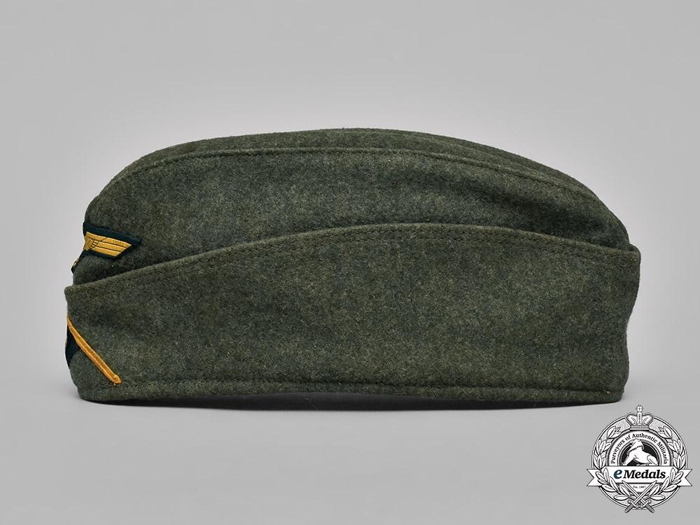 eMedals-Germany, Kriegsmarine. An EM/NCO Coastal Artillery Overseas Cap, by L.L. Gen., c.1941