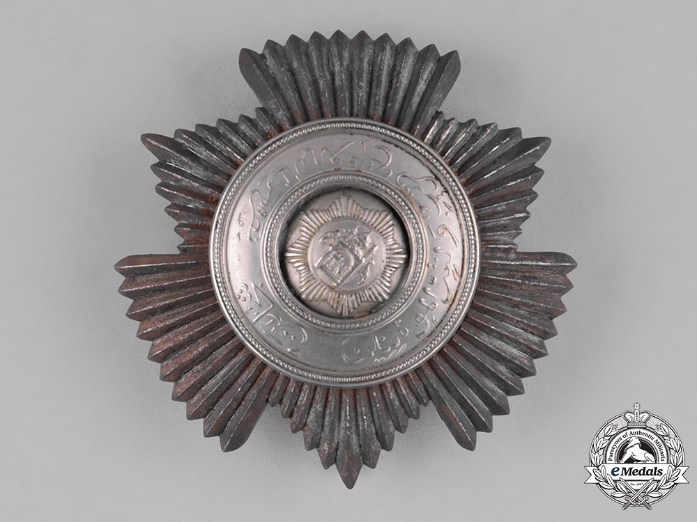 eMedals-Afghanistan, Kingdom. An Order of Bravery, Commander's Star, c.1926