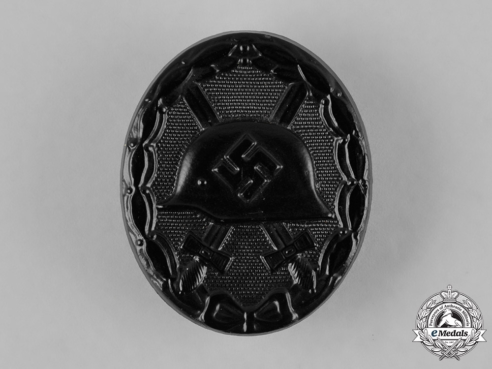 eMedals-Germany, Wehrmacht. A Black Grade Wound Badge