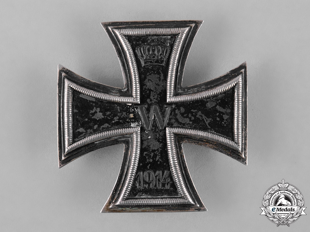eMedals-Germany, Imperial. A Silver 1914 Iron Cross, I Class, Dual Screwback