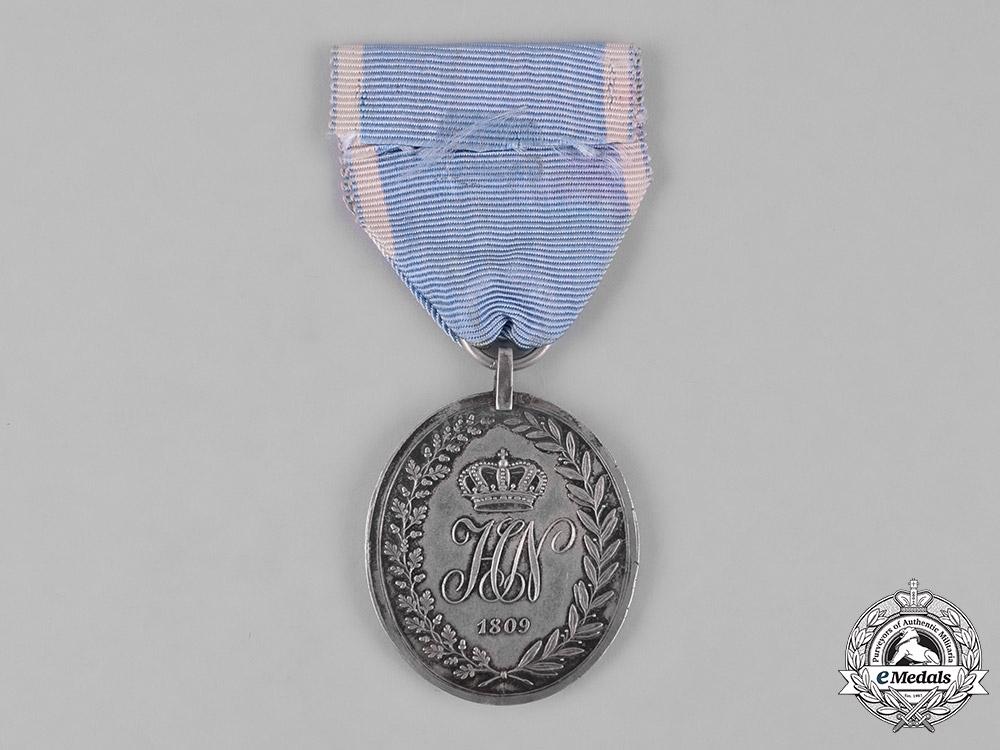 eMedals-Westphalia, Kingdom. A Rare Military Honour Medal 1809