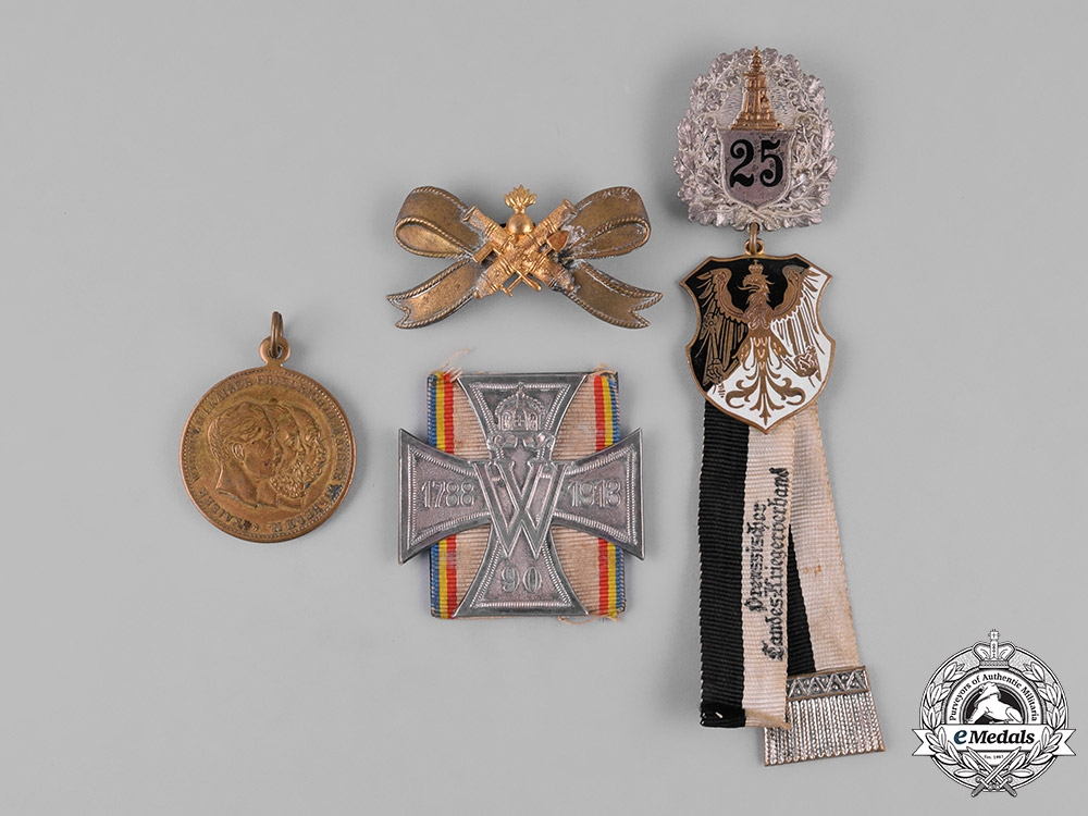 eMedals-Germany, Imperial. A Lot of Imperial Veteran Badges