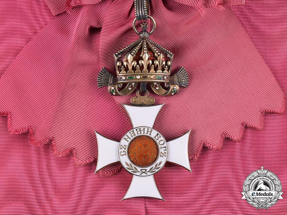 eMedals-Bulgaria, Kingdom. An Order of St. Alexander, I Class Grand Cross, c.1910