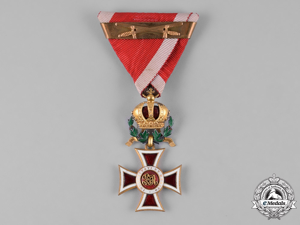 eMedals-Austria, Imperial. A Leopold Order, Knight's Cross with War Decoration, Multiple Award Bar, & Swords, by C.F. Rothe, c.1917