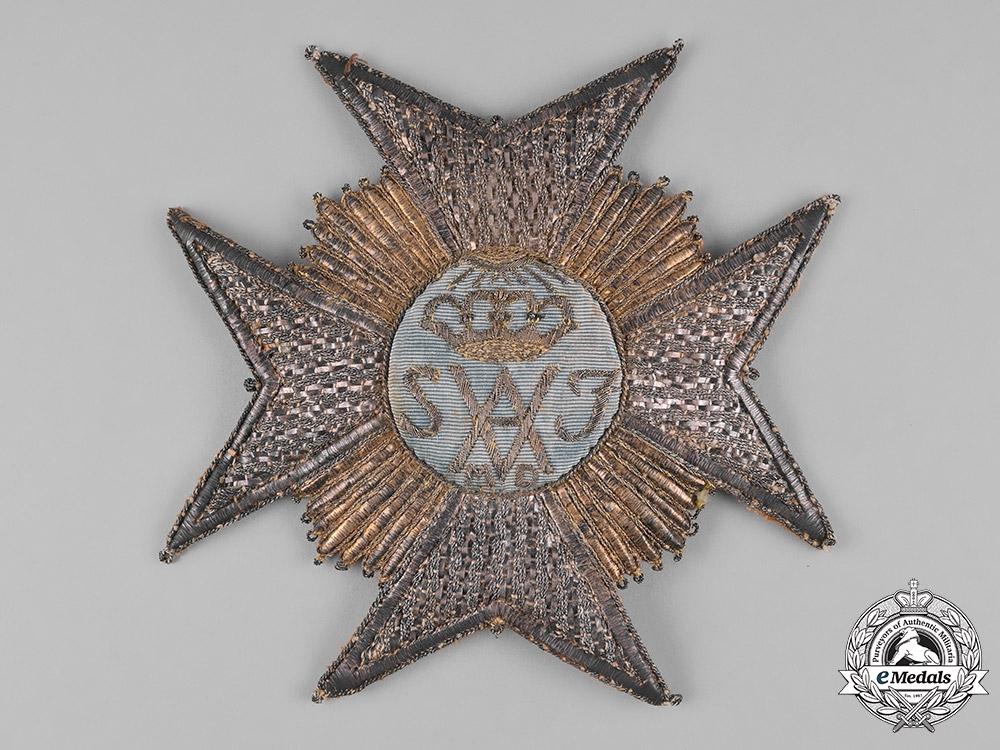 eMedals-Sweden, Kingdom. An Order of Amarante, Grand Master's Star, c.1850