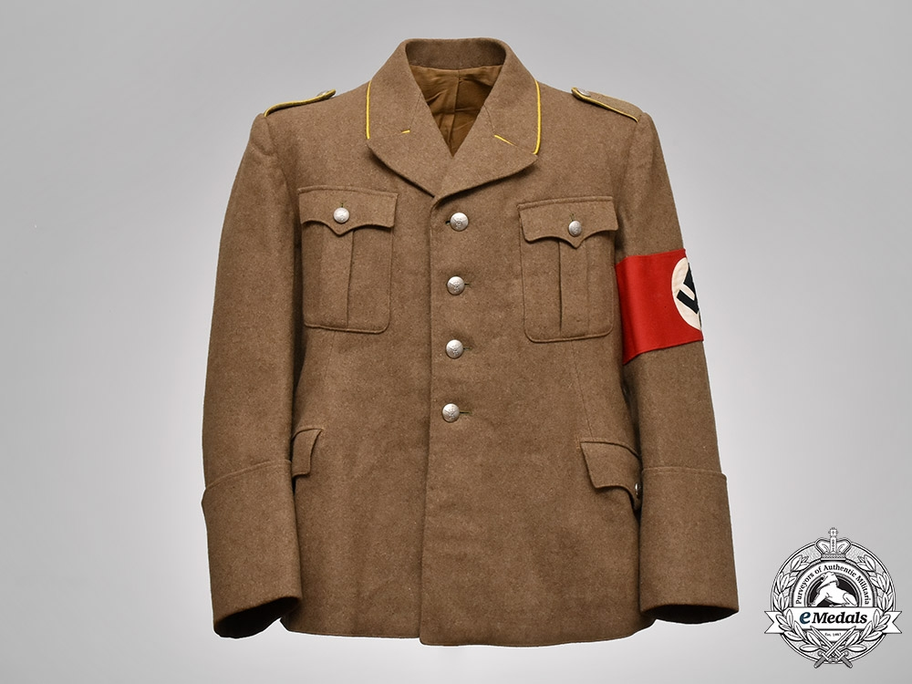 eMedals-Germany, NSDAP. An Ordensburg Vogelsang Student Tunic