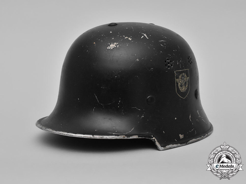 eMedals-Germany, Ordnungspolizei. A Civic Police Steel Helmet, by DRP Thale