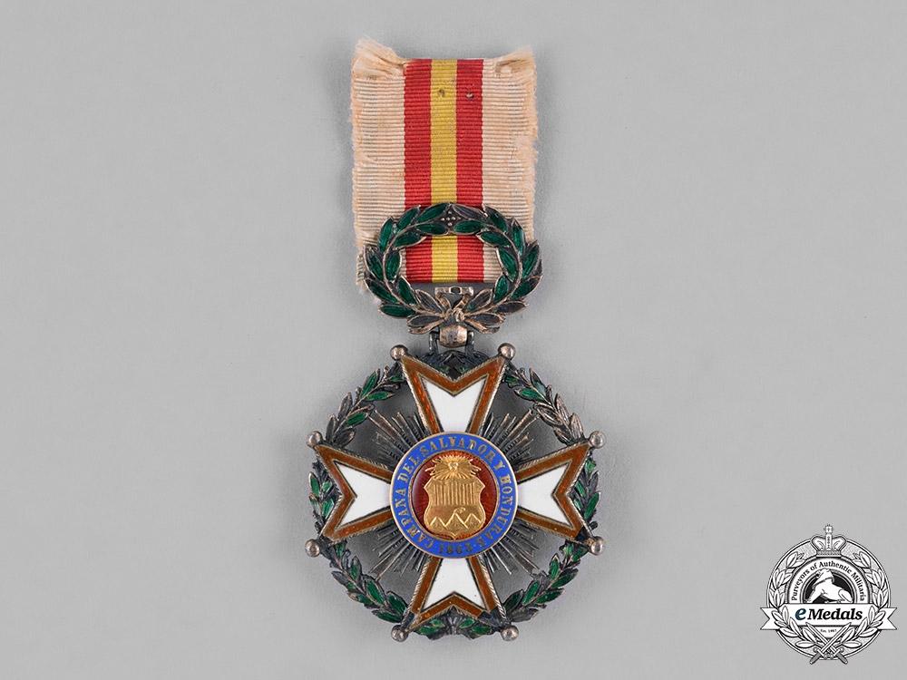 eMedals-Guatemala, Conservative Regimen. An El Salvador and Honduras Campaign Cross, Officer, c.1863